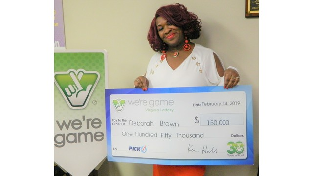 Woman wins lottery 30 times in one day