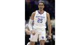 UK's Washington out for tourney opener