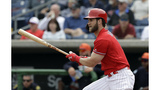 Phillies' Harper hits first 2 homers