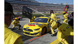 Logano captures pole at Martinsville