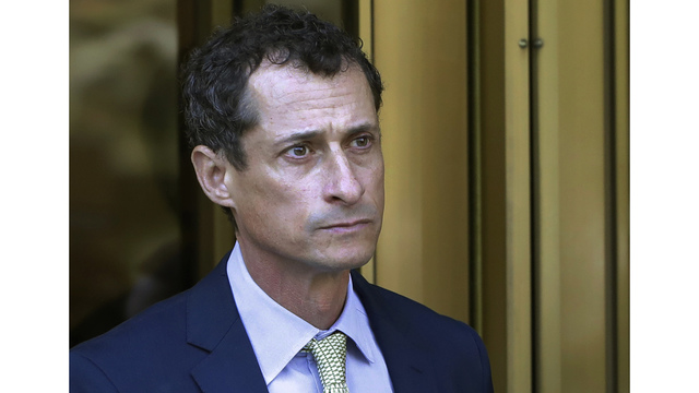 Ex-Rep. Anthony Weiner ordered to register as sex offender