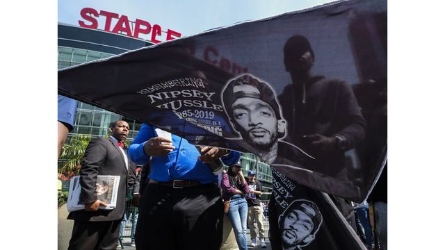 Nipsey Hussle's family gathers for private funeral in LA