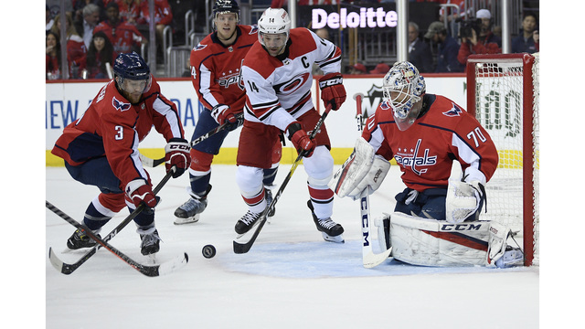 Orpik scores in OT, Capitals take 2-0 lead over Hurricanes