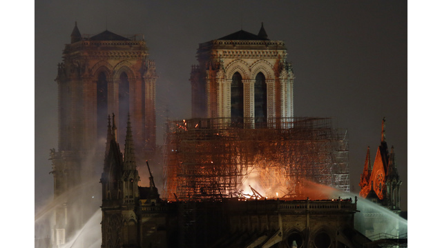 Photos: Fire at Notre Dame Cathedral