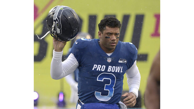 Russell Wilson sticking with the Seattle Seahawks