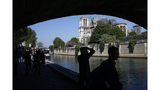The Latest: Notre Dame artworks are safe, being removed