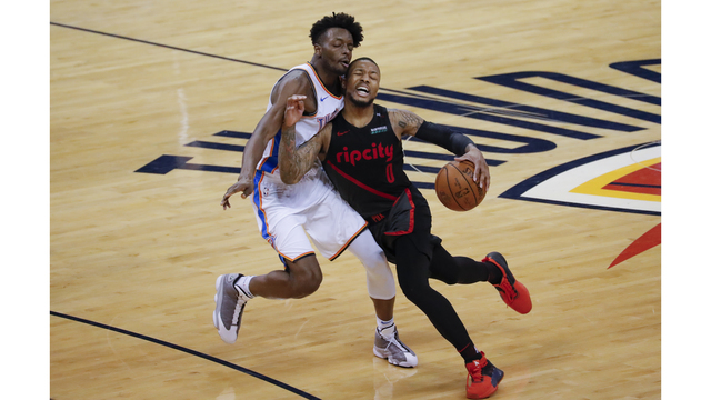 Blazers look to close out series Tuesday night