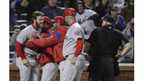 MLB reviewing Harper's clash with umpire