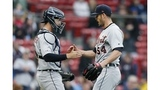 Sale remains winless as Tigers beat Red Sox in DH opener