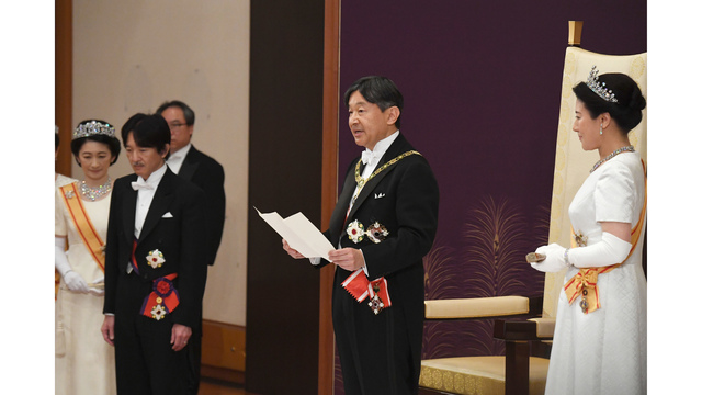 Emperor Naruhito takes throne day after his father abdicates