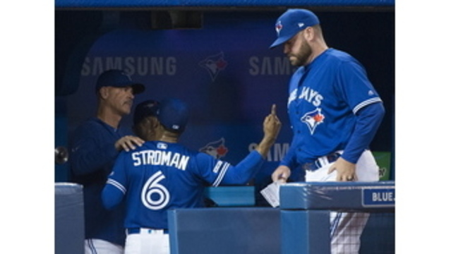 online retailer 857f2 ae9e0 Stroman angry about removal, White Sox top Blue Jays 7-2