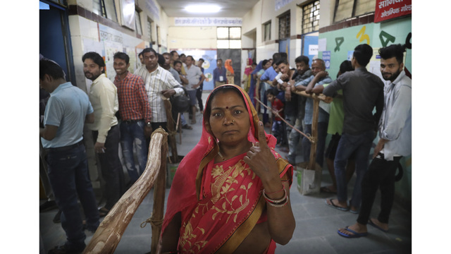 Voting in Indian elections reaches next-to-last phase