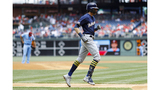 Brewers' Yelich sits with back spasms