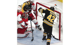 Bruins' Backes to face Blues buddies