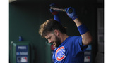 Cubs' Bryant exits after collision