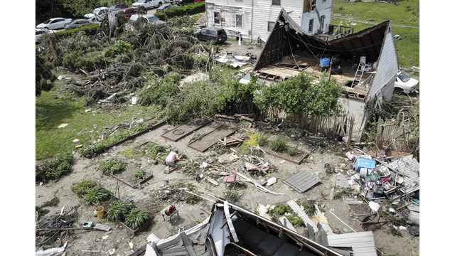 Tornadoes strafe Kansas City area in latest spasm of storms