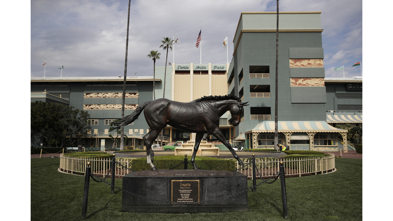 2nd horse in 2 days, 29th overall, dies at Santa Anita